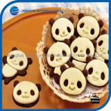 4 PCS Cartoon Panda Biscuit Mold