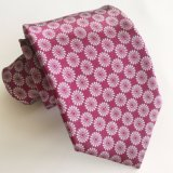 Screen Print 100% Polyester Satin Private Label Men′s Ties Custom