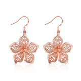 Rose Gold Plated Women Eardrop Women Earrings Jewelry