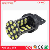 Canbus Error Free 3157 1156 1157 T20 7440 W21W W3X16D 60 SMD 2835 LED 12V DC Auto Turn Signal Brake Tail Light Bulb White Red Blue Ice Blue Pink