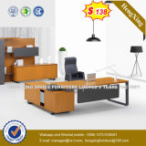 Luxury Melamine Wooden Table Top Executive Office Desk (HX-8N0486)