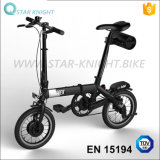 14-Inch 24V Battery Bicycle Custom Alloy Frame Folding Bike