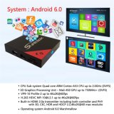E8 Android Smart TV Box IPTV Receiver with S905X Quad Core