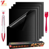 Grillaholics Grill Mat - Set of 2 Non Stick Reusable BBQ Grilling Mats and Easy to Clean - Extended Warranty Grill Mat (XY-SM-005)