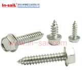 DIN6928 Hexagon Washer Head Self-Tapping Screws with Collar