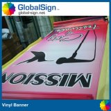 Outdoor Double Sides Printed Digital Printing Vinyl Street Light Flag Banner