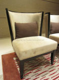 Lounge Armchair with Pillow for Lobby