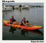 2 Person 4m Length Inflatable Folding Kayak