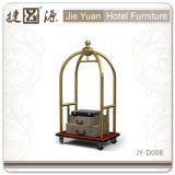 Stainless Steel and Good Quality Hotel Luggage Trolley (JY-D008)