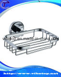 Bathroom Accessory Vacuum Suction Cup Stainless Steel Soap Wire Basket