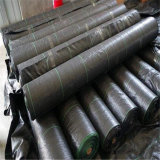 4.5m*100m Black PP Woven Geotextile Supply by Sincere Factory Price