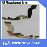 FOR iPhone 4S Grey Flex CHARGER DOCK connector