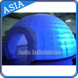 Cutely Lighting Inflatable Stage Dome for Promotion