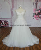 AG110 Beaded Lace A-Line Bridal Wedding Gown