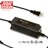 Original Meanwell Owa-60u Single Output Waterproof IP67 LED Driver