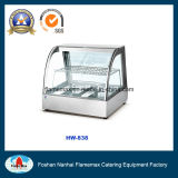 Hw-838 Food Warmer/ Stainless Steel Heater /Curved Glass Heater with 2-Pans