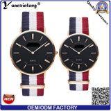 Yxl-619 Customized Slim Quartz Couple Lover Watch/Stainless Steel Back Unisex Wrist Watch
