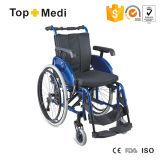 Manual High End Lightweight Wheelchair with Aluminum Frame