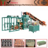 Qt4-20 Semi-Automatic Cement Bricks Manufacturing Process