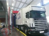Commercial Automatic Bus and Truck Washer