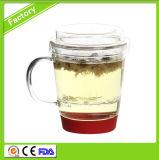 High Quality Glass Tea Cup Three Piece