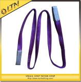 Light Lifting Equipment Polyester Webbing Sling (NHWS-A)