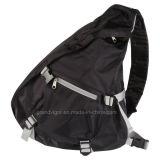 Polyester Sling Backpack with Padded Shoulder