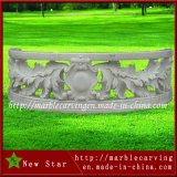 White Marble Staicase Post Railing Stone Carving Balustrade Sculpture