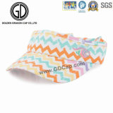 Beautiful Fashion Colorful Sport Golf Sun Visor with Customized Embroidery