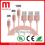 Lightning Micro Nylon Braid USB Cable for Andrews Mobile Phone