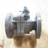 150lb/300lb Cast Steel Wcb Floating Type Flange End Ball Valve