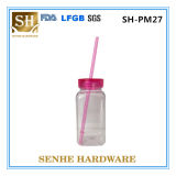 Coffee Cup with Cover, PP Material Plastic Coffee Cup, Non-Disposable Use Cup Coffee