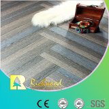 Commercial 8.3mm HDF Crystal Oak Waxed Edged Laminate Flooring