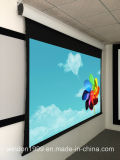 "150"" Tab Tensioned Motorized Screen with Rear Projection"