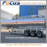 34, 000L Aluminum Fuel Tank Trailer with Adr for Madagascar