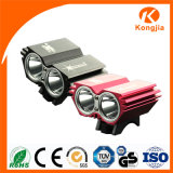 Factory Wholesale Powerful Rechargeable Front Aluminium LED Bike Light