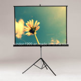 Tripod Manual Pull Down Projection Screen