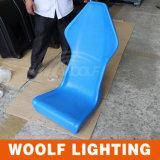 LED Plastic Chairs Aluminium Rotating Molds