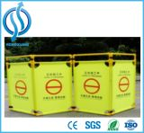 Safety Retractable Barrier Tape Folding Traffic Barrier Road Barrier
