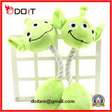 Green Dog Training Ball Chew Rope Plush Pet Toy