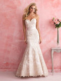 2016 Gergeous Embroidary Mermaid Bridal Gown Wedding Dress