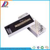 White Cardboard Drawer Gift Box Sliding Packaging Box with EVA Insert