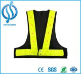 High Visibility Traffic Yellow and Orange Safety Vest