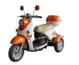 500W 48V Electric Tricycle with Front Basket and Rear Trunk (TC-014)