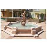 Beautiful Stone Marble Woman Statue Garden Water Fountain