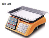 Electronic Scale with Stainless Steel Keyboard (DH-608)