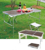 3 Folded Camping Party Folding Picnic Table with MDF Surface (MW12023)