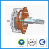 25mm Metal Shaft Wave Band Switch for Micro-Wave Oven