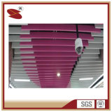 Best Fireproof Materials Baffle Aluminum Ceilings in Restaurant