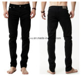 High Quality Men Slim Straight Stretch Leisure Jeans